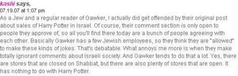 Gawker Apologizes To The Jews