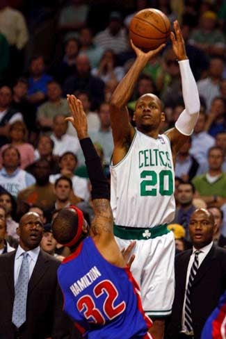 Ray Allen Reunites With Jump Shot, Celtics Win