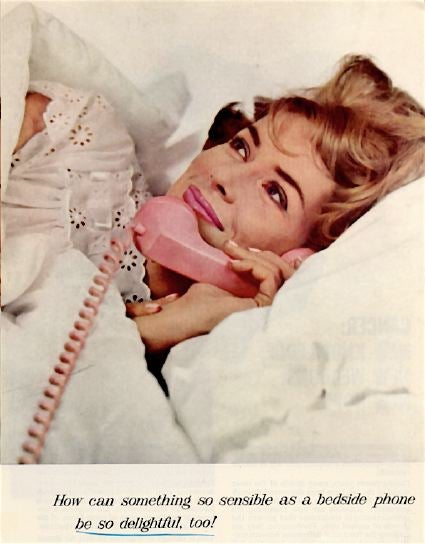 Image of the Day: AT&T's 1969 Phone Sex Ad