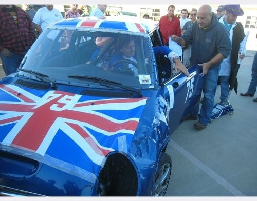 2005 Mini Cooper LeMons Car Gets 1066 BS Penalty Laps