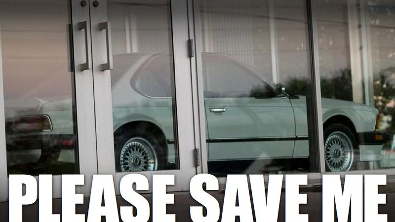 The ghost BMW dealership is for sale