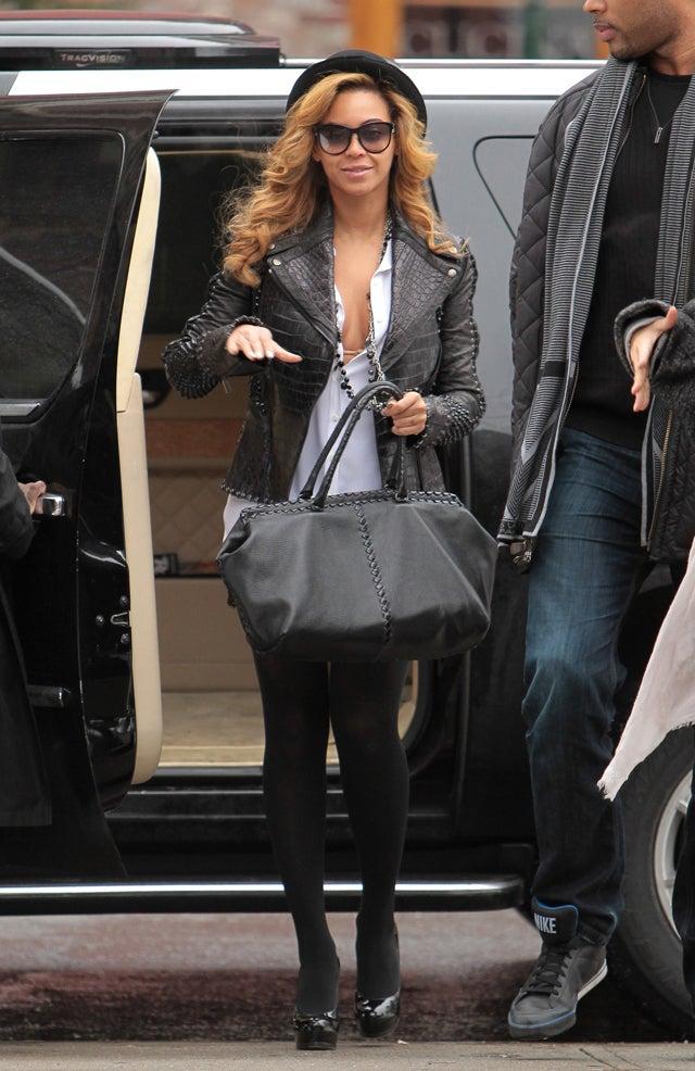 New York: 25°; Beyoncé: Flawless