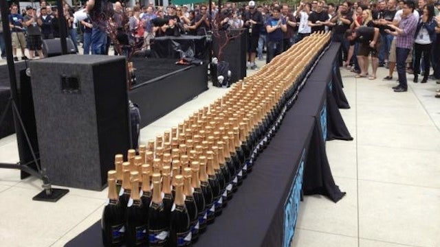 Blizzard Celebrates Diablo III's Success With An Insane Amount of Champagne