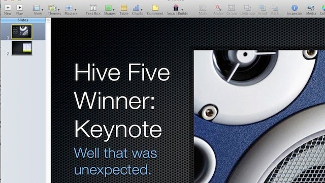 Most Popular PowerPoint Alternative: Keynote