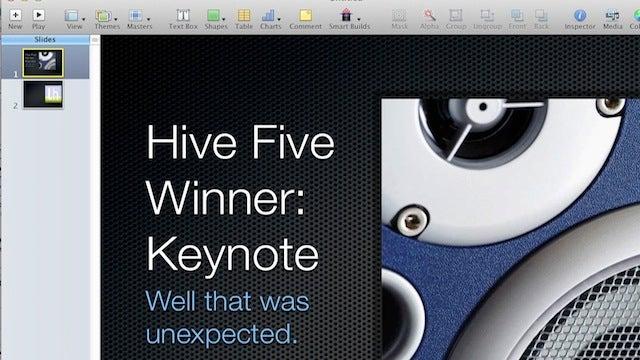 Most Popular PowerPoint Alternative: Keynote
