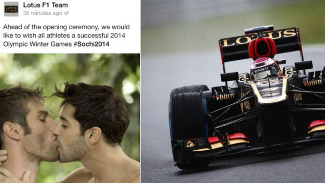 Lotus Formula 1 PR Guy Says He Was Fired For 'Supporting Gay Athletes'