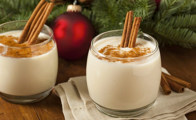 Everything That Goes Into a Cup of Eggnog