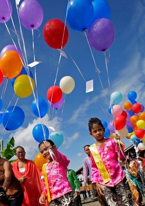 Suriname Sky Gets A Shot Of Extra Color