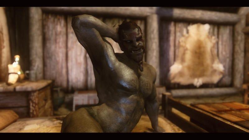 The Sexiest, If Not Silliest, Skyrim Beard Porn