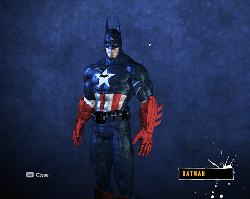 PC Arkham Asylum Players Play Dress-Up