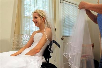 Paralyzed Bride Finally Getting Married