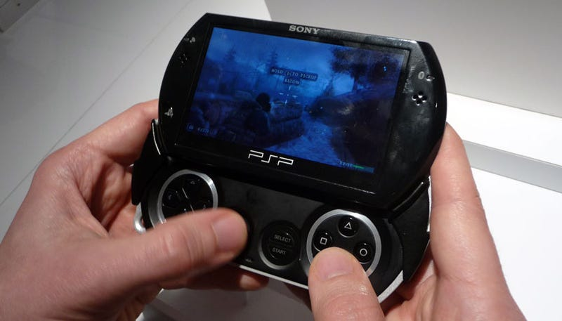 PSP Go Hands-On Impressions