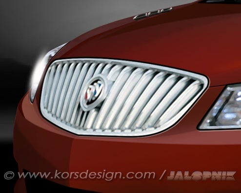 2010 Buick LaCrosse: Rendered For Your Pleasure
