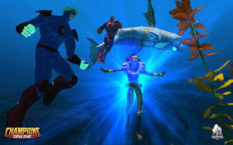 Champions Online Reveals The Underwater World Of Lemuria