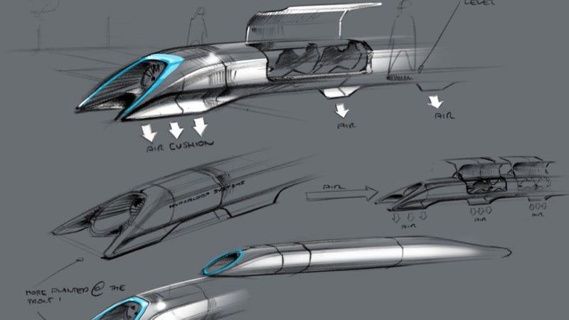 Elon Musk's Hyperloop Alpha: A Quick And Dirty Explainer