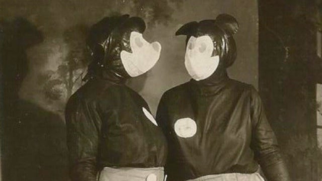 These are the probably the most terrifying Mickey Mouse costumes ever worn