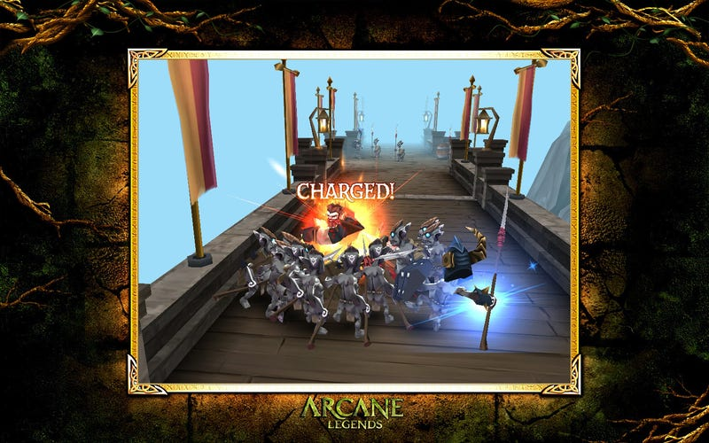 Free-to-Play Fantasy MMO Arcane Legends Launches on Android and Chrome