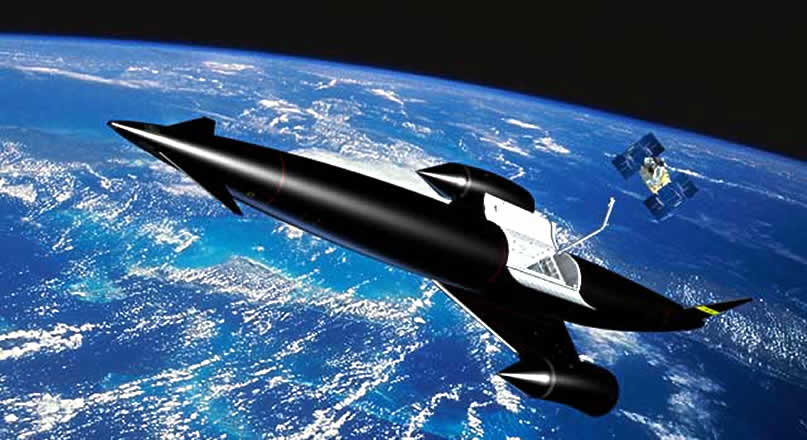 The Future Of Space-Travel Is Rockets That Breathe