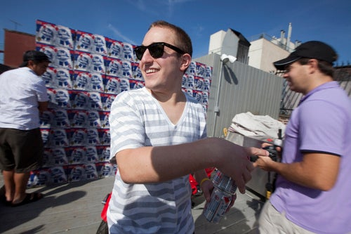 Highlights from Gawker's Second Annual Beer Pong Tournament
