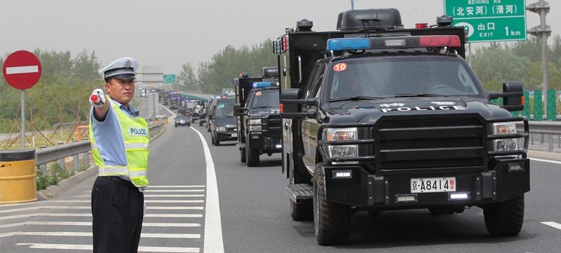Is China Importing Grey-Market Ford F-250s For Their Police?