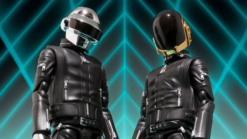 Daft Punk Get Fancy Japanese Action Figures