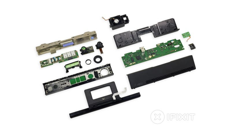 Kinect 2.0 Teardown: Lots of Sensors and Highly Repairable
