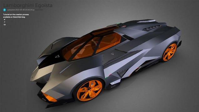 Lamborghini Egoista Top Gear