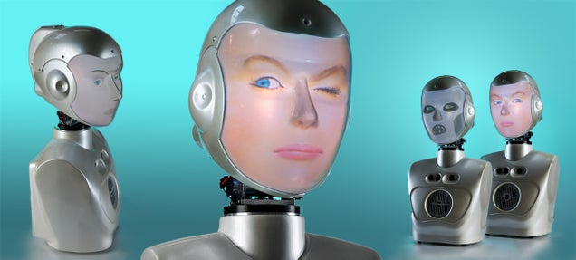 Creepy Robot Takes the Form of Your Friends, Knows What You're Thinking