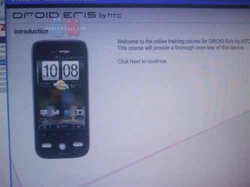 HTC Droid Eris Pictured, I Really Hope It's Cheap