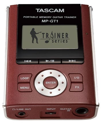 Tascam MP-GT1: Trainer for Real Guitar Heroes
