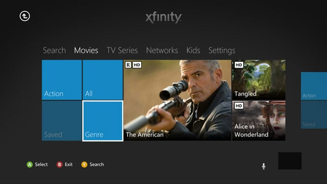 This is What Comcast Cable Will Look Like On Your Xbox 360