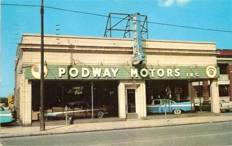 Glory Days: Vintage, Pre-Carpocalypse Auto Dealerships