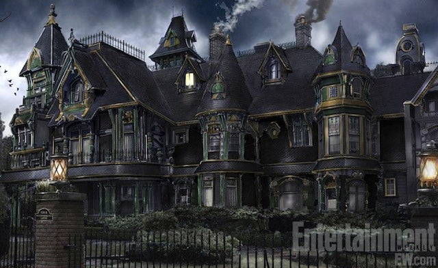 First image from The Munsters remake Mockingbird Lane is gothic architectural eye candy