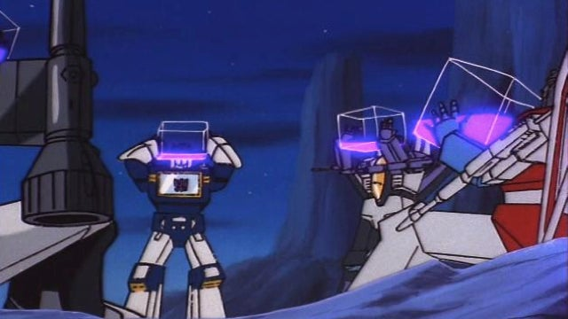 Remember that time Megatron got drunk on the Transformers cartoon?