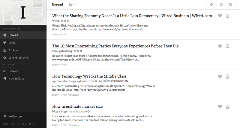 Instapaper Gets a New App-Like Interface on the Web