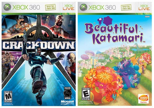 Microsoft Puts Crackdown, Katamari On Demand