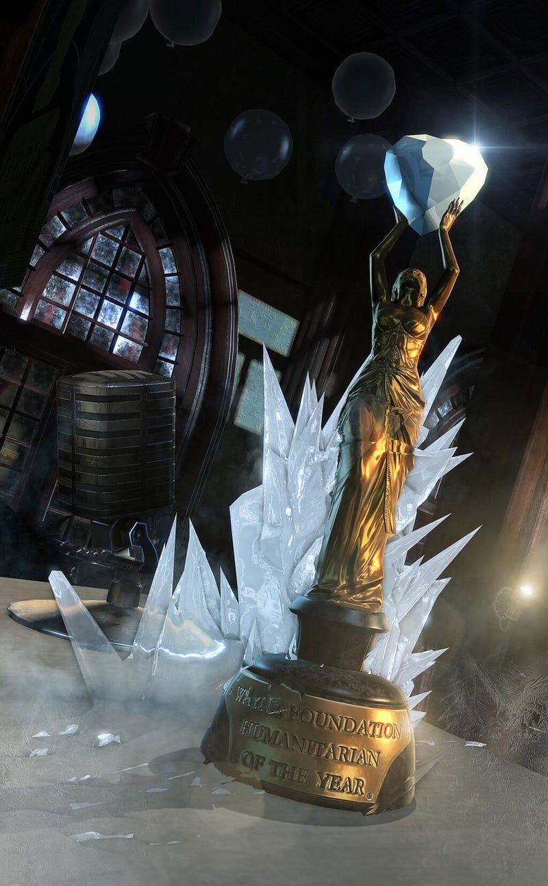 Everything Freezes In Batman: Arkham Origins' Story DLC