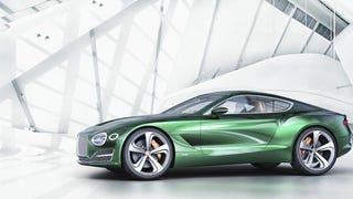 This Is The Bentley EXP 10 Speed 6 Concept Car, A Baby Continental GT