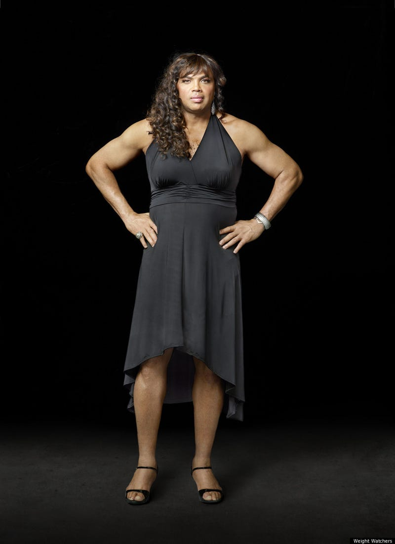 Charles Barkley Dresses As A Woman For His Next Weight Watchers Commercial