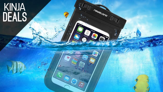 Take Your Phone For a Swim With This $8 Dry Bag