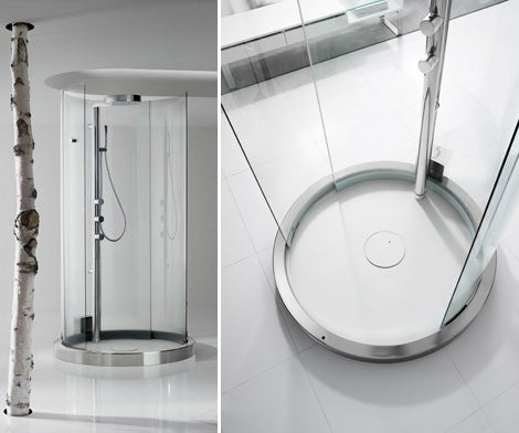 Motion-Sensing Transtube 360 Shower Puts You On Display
