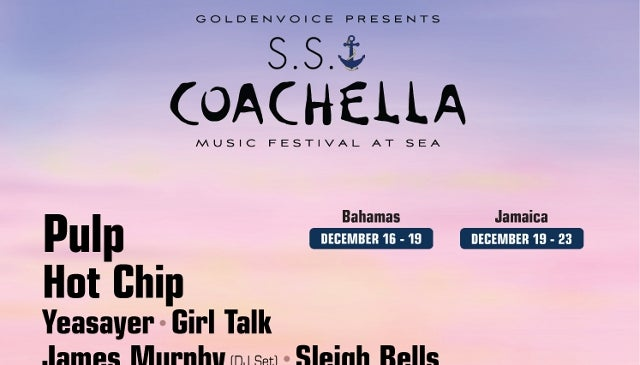 All Aboard the S.S. Coachella: Music Festival Confirms Plans for Concert Cruise