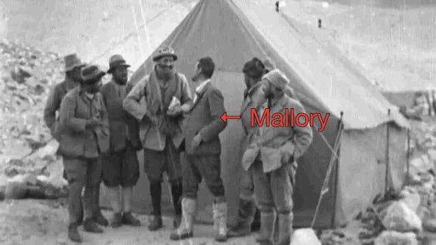 George Mallory-t már 1936-ban megtalálták