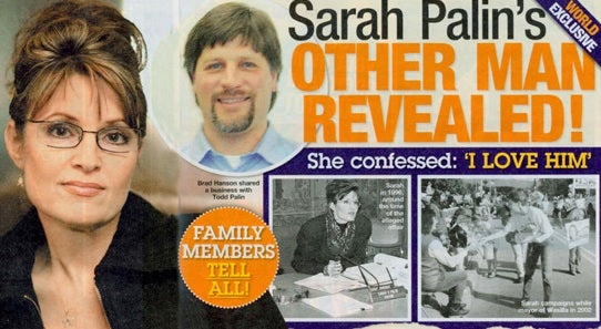 Sarah Palin's Other Man Brad Hanson: The (Plausible) Details At Last!