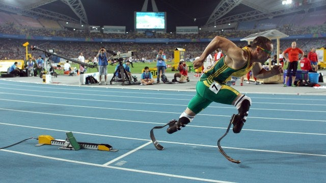 Double Amputee Oscar Pistorius Will Compete In The 2012 Olympics