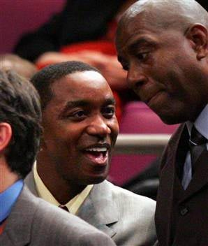 Isiah Thomas Is Smooth With His Corporate Sponsors