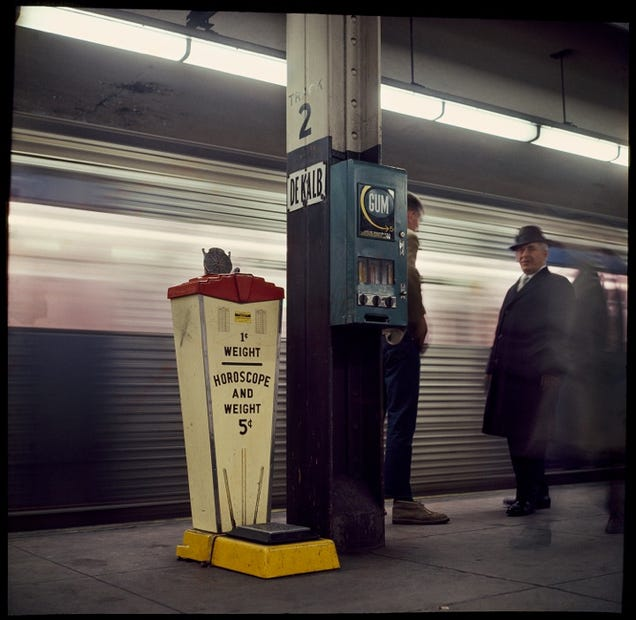 Rare Photos From 1966 Show the NYC Subway in Full Color