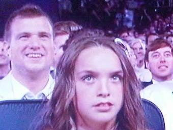 Last Night's Winner: Brett Favre's Unsmiling Daughter