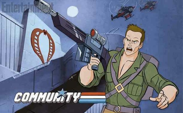 Community's G.I. Joe Tribute Looks Absolutely Spectacular