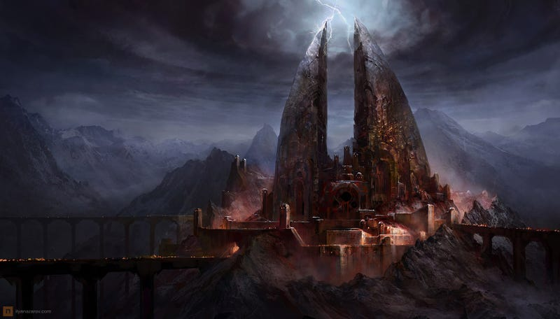 One Does Not Simply Draw Into Mordor